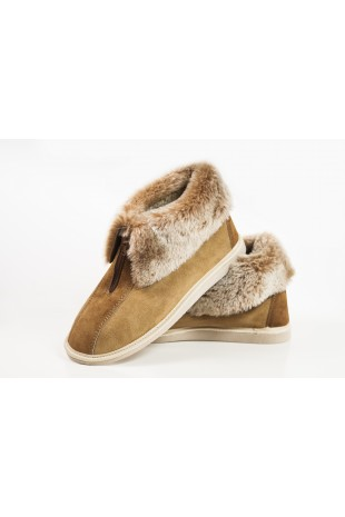 Handcrafted Men's Sheepskin...